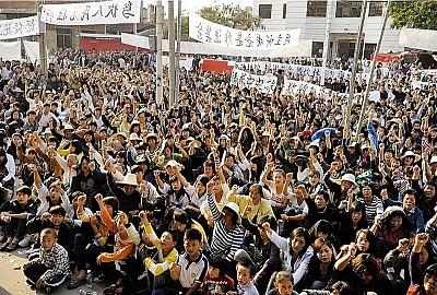烏坎九村民遭判刑 去政治化抗爭也遭滅
