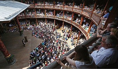 >探訪英國倫敦莎士比亞環球劇場