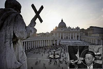 梵蒂岡邀請黃潔夫談器官 黑幕擋不住