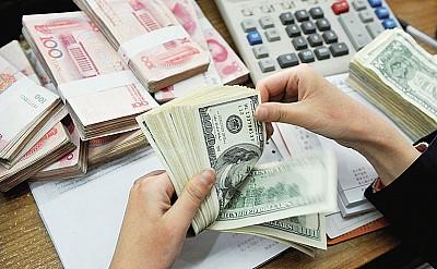 大陸資金外流創新高 外匯儲備跌破3萬億