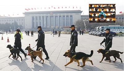 兩會風聲鶴唳 北京新疆「嚴防死守」
