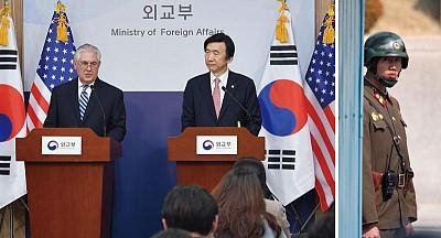 川普外交首亮相 中共撐北韓陷外交困局