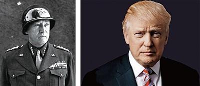形似又神似 川普是巴頓將軍轉世?