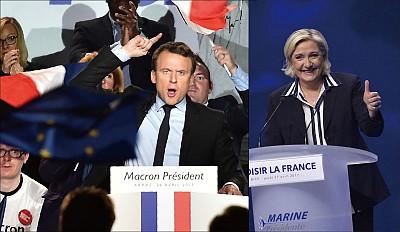 「女川普」對決馬克龍 法國大選依舊迷離