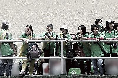 滋擾香港425遊行 中共日付千萬