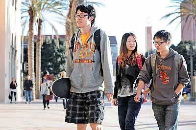 中國留學生正在改變美國校園